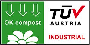 OK compost TUV Austria Industrial logo